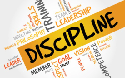 What DISCIPLINES do you need to put in place to reach your goals?